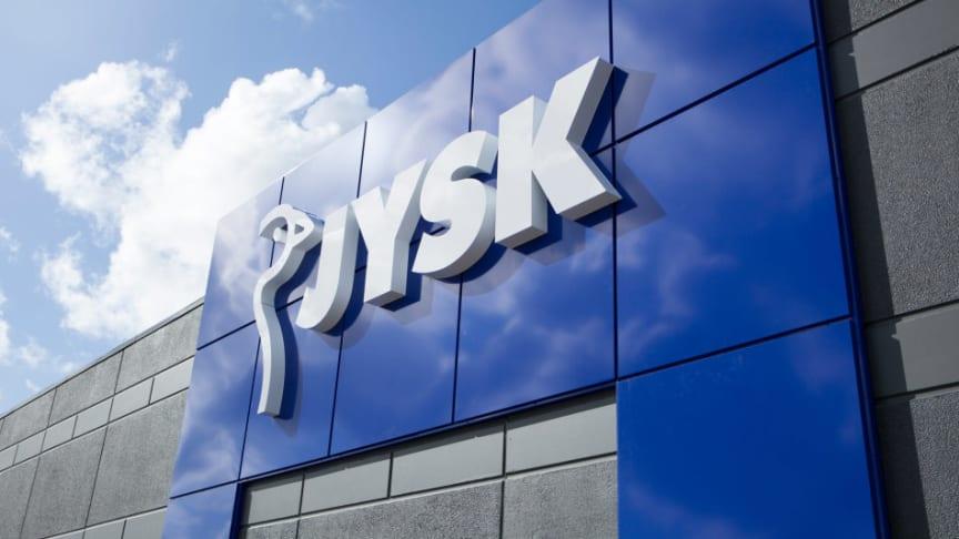 Na Áustria, DÄNISCHES BETTENLAGER muda o nome para JYSK