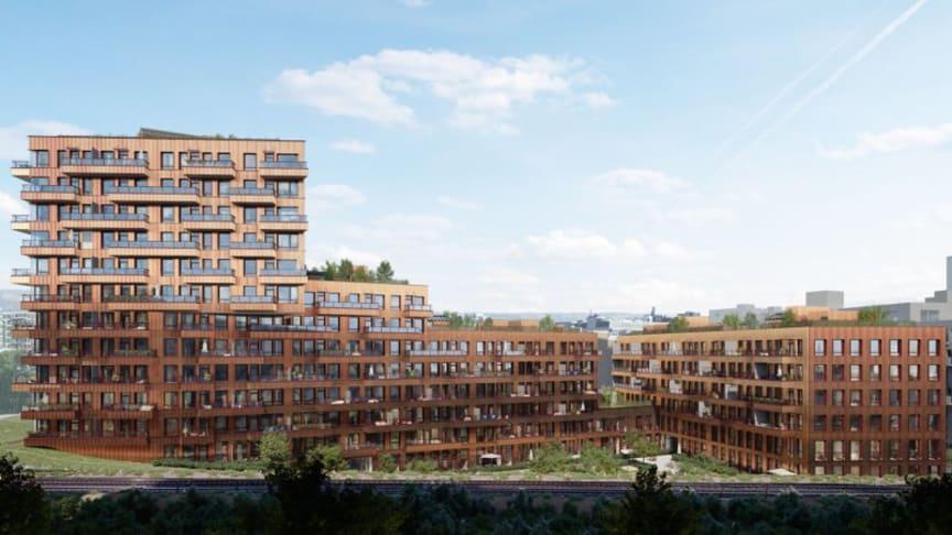 Tigergården på Ensjø i Oslo er Skanskas andre boligprosjekt som BREEAM-sertifiseres. Nå har vi laget en veileder for å kommunisere kvalitetene ved BREEAM-NOR-sertifiserte bygg til sluttbruker.