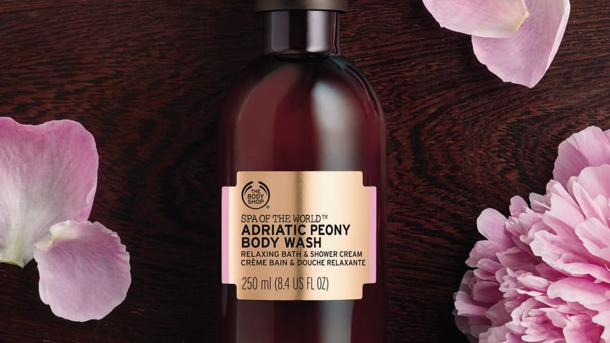 Adritatic Peony Body Wash 250ml_env
