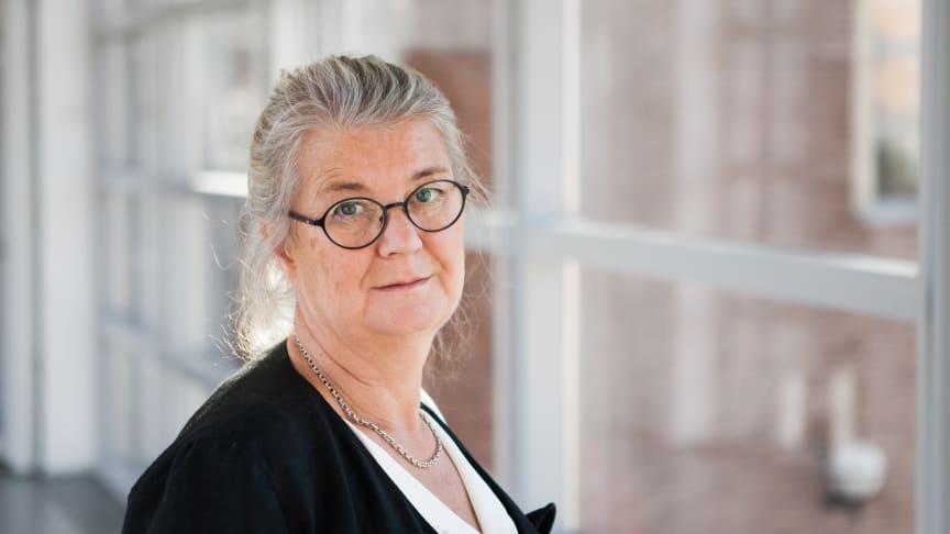 Elisabeth Dahlborg, professor i vårdvetenskap vid Högskolan Väst.
