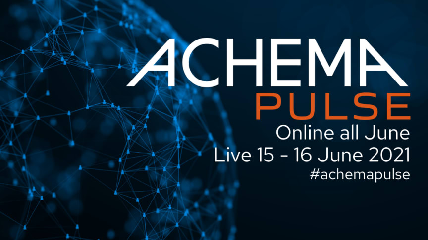 Join us for the for the premiere of ACHEMA Pulse - Tranter invites you to visit the online platform for free.