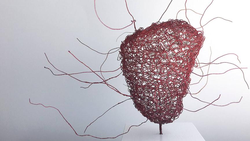 Priset kulturhjärtat är ett konstverk av konstnären Kerstin Lindström.