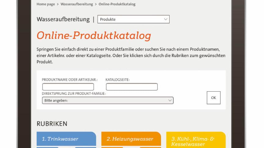 Print oder digital - der neue Produktkatalog ist da