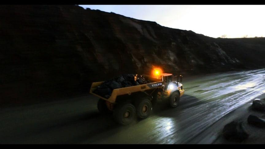Volvo A60H dumper - The Beast