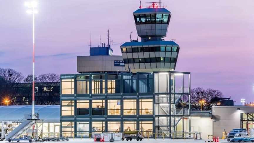 Cramo Adapteo tarjoaa laadukasta lennon odotusta Berlin-Tegelin lentokentällä.