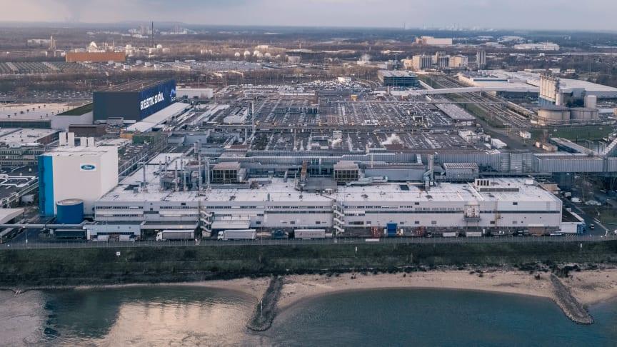 Ford med storstilt elbilsatsing i Europa; Investerer 8,4 milliarder kroner i fornyet fabrikk i Køln