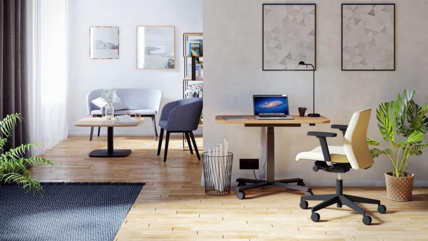 Für die Einrichtung des Homeoffice-Arbeitsplatzes steht eine große Auswahl unterschiedlicher Einrichtungslösungen zur Verfügung. Bild: NowyStyl