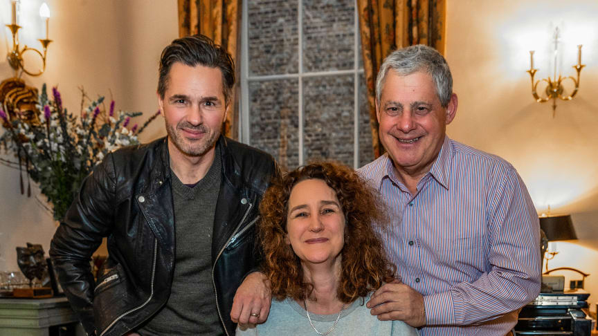Peter Jöback, Rachel Kavanaugh & Cameron Mackintosh