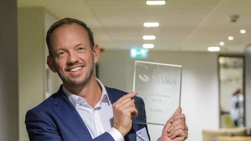 Johan Kallblad, vd Exsitec. Bildkälla: Visma Software AB