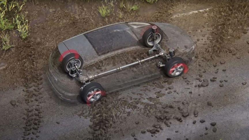 Fords intelligenta fyrhjulsdrift.