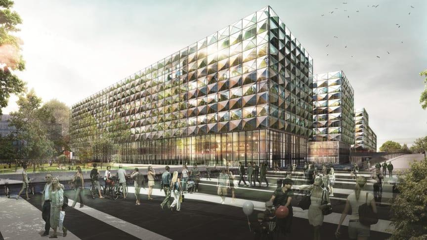 Niels Bohr-bygningen på Jagtvej i København bliver bygget med det prisvindende BMS-system SmartStruxure