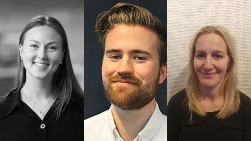 Grønn Byggallianse har fått f.v. Camilla S. Gulbrandsen, Håvard Sveahaugen og Sigri Heen med på laget.