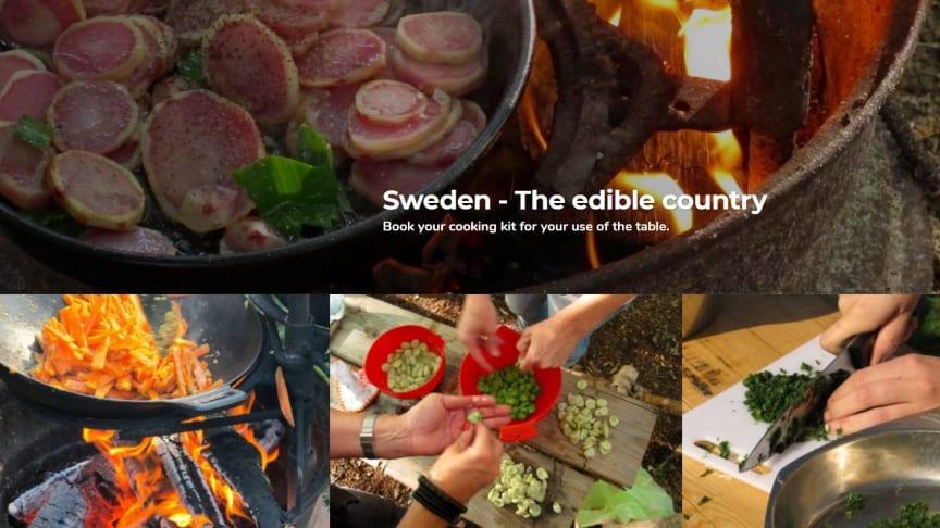 Utländska besökare bjuds in till gör-det-själv-måltid i naturen