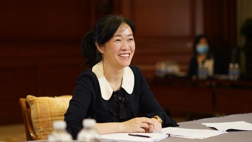 Catherine Chen, Senior Vice President och Styrelseledamot i Huawei