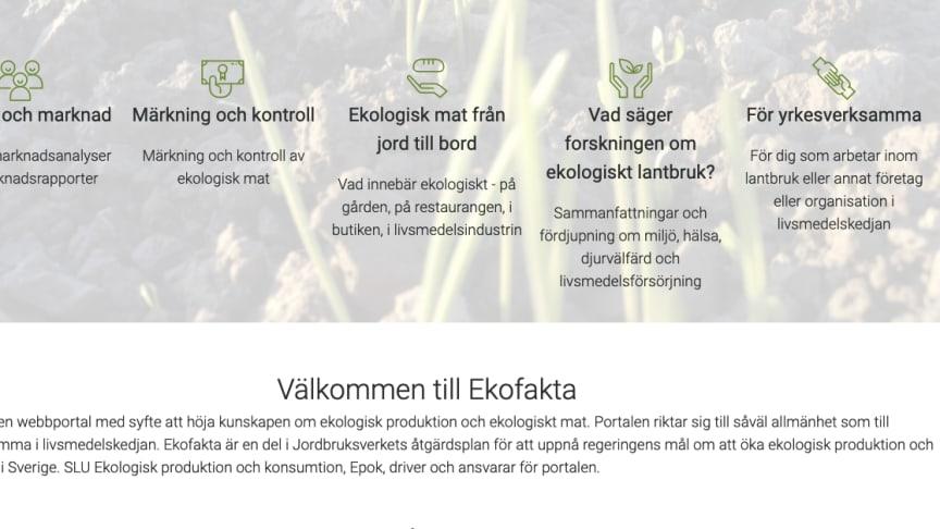 Nu öppnar Ekofakta.se