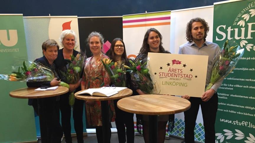 Linköping är Årets studentstad 2016/2017