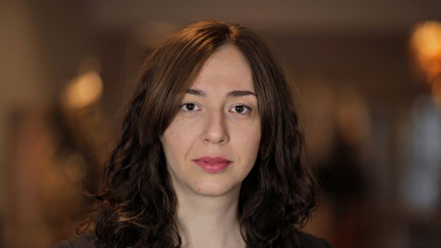 Elena Glotova, doktorand, Institutionen för språkstudier Foto: Per Melander