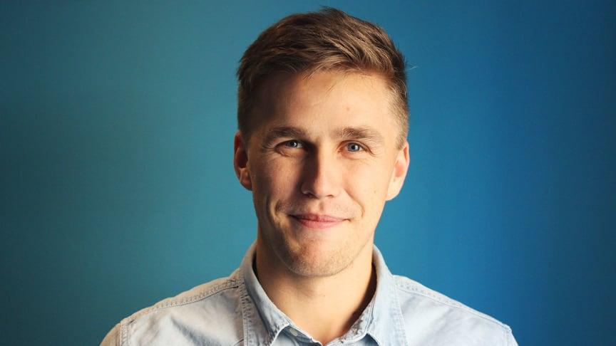 Jonas Lööw, grundade och VD på Bokadero.