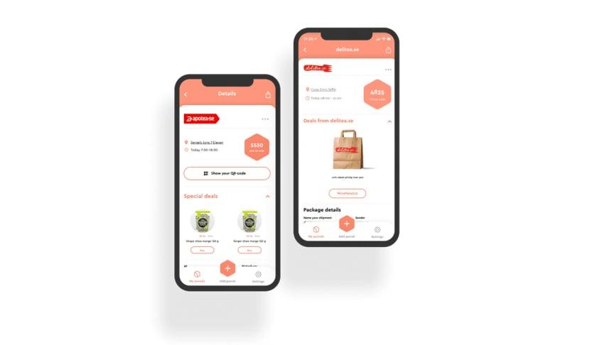 Först ut efter att Unifaun och Consignor har gått ihop är en helt ny, fräschare och bättre design av appen Mina Paket, e-handlarnas, transportörernas och konsumenternas bästa vän!