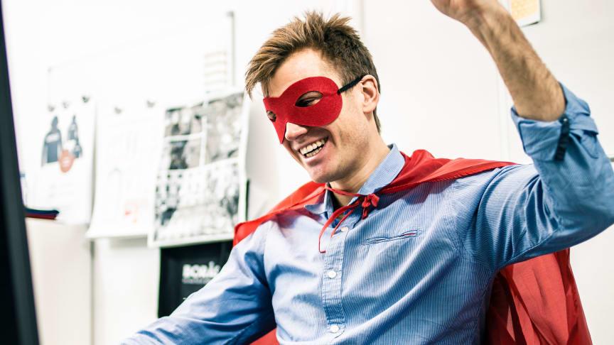 Superhjältar, byggstenarna när Team Borås utvecklas