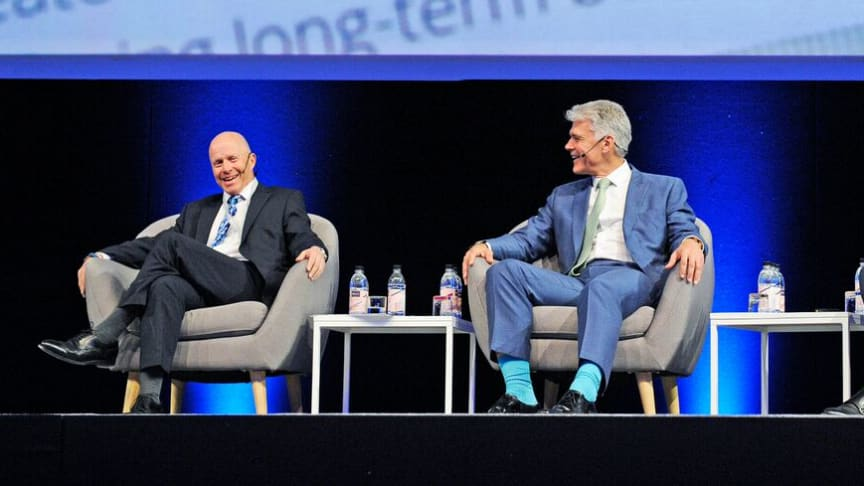 A panel of leading financial planners at the Discovery Financial Planning Summit 2017. From left to right, Gary Plein Co-Founder and Principal of Aspire, Guy Bolam Director of BolamRose and Mark Duckworth Chief Executive Officer of Openwork.