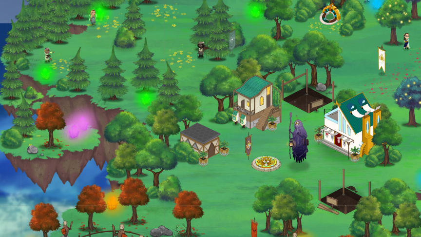 Ludea, den digitala världen i Studio Ludum-appen.