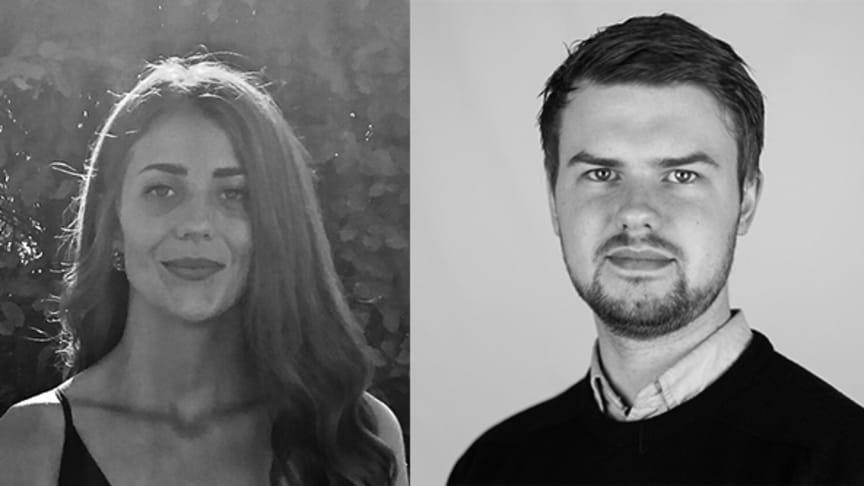 Johanna Strandman, Jacob Harrysson och Andreas Möller