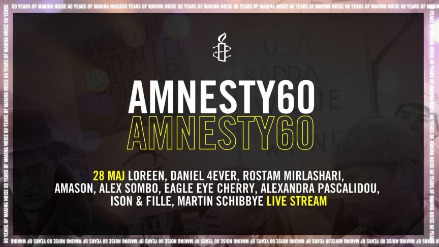 Amnesty International firar 60 år av mänskliga rättigheter!