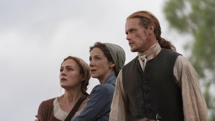 Outlander er tilbake – to dager tidligere enn planlagt