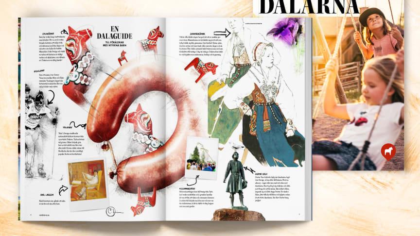 Visit Dalarnas magasin Barnens Dalarna 2019