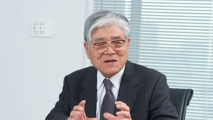 SMC:s grundare, tillika styrelsens ordförande, Yoshiyuki Takada
