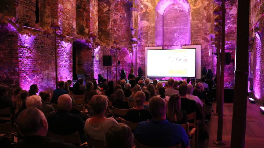 Dette års festugeprogram blev tirsdag aften præsenteret ved et arrangement på Koldinghus