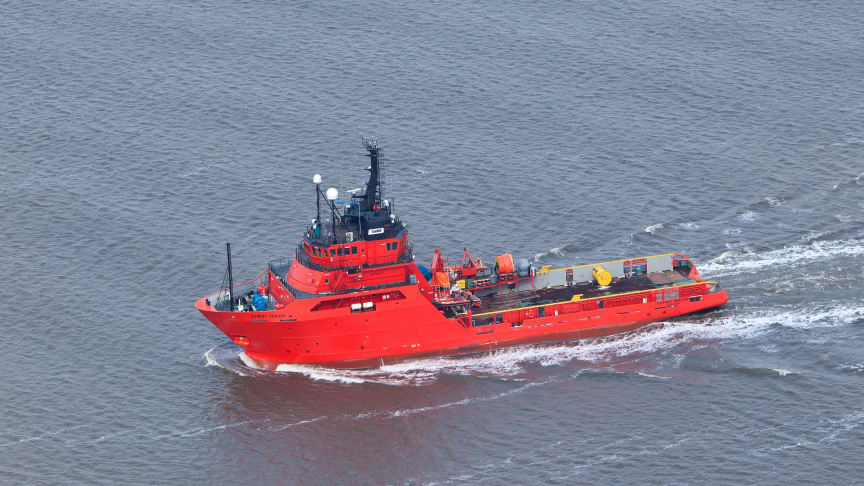 The 'Esvagt Server' entered into contract on the Siri field for INEOS on the 1st of July, continuing 20 years of experience and partnership.