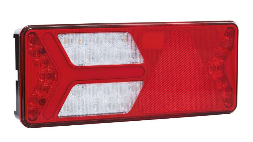 Die Ermax Heckleuchte wird aus Polycarbonat gefertigt, das eine 17-fach höhere Schlagfestigkeit besitzt als das herkömmliche in der Automobilindustrie genutzte Acryl oder ABS.
