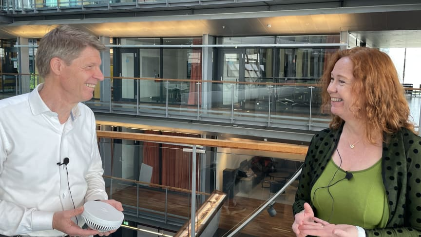 Stian Solberg, CTO, Ericsson Norway and Ingeborg Øfsthus, CTO Telenor Norway have entered into a Joint Innovation Cooperation, a major effort to create new 5G-powered opportunities.