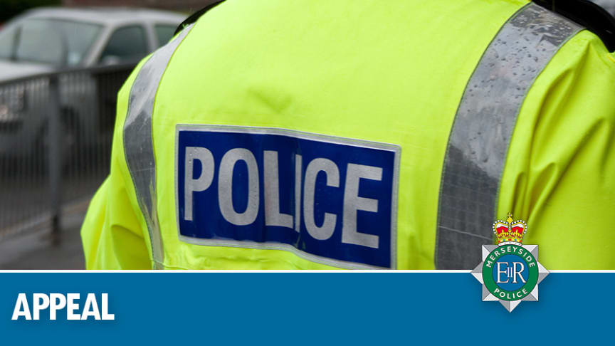 Appeal following incident in Bootle