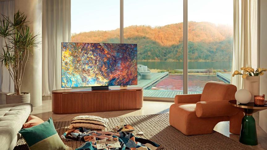 Samsung præsenterer 2021s TV Neo QLED-, MICRO LED- og Lifestyle skærme