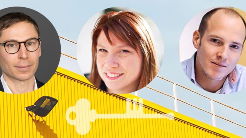 Per Holm (Energiföretagen), Katharina Paoli (A Win Win World) och Anders Kallebo (Myrspoven) är några av talarna under Energikontor Norrs konferens.