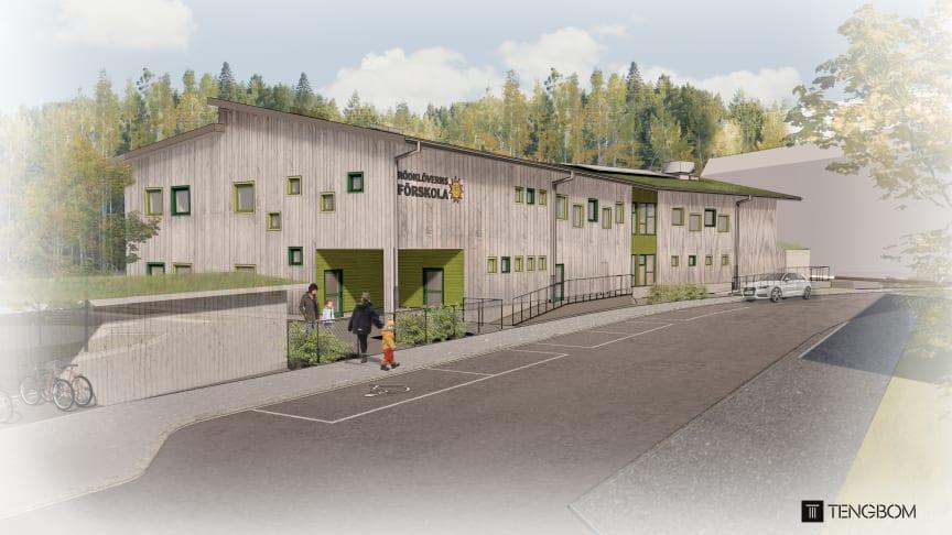 Pressinbjudan: Spadtag för första förskolan på Jakobsberg