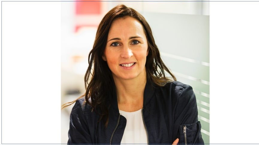 Therese Berg, hållbarhetschef på Riksbyggen.