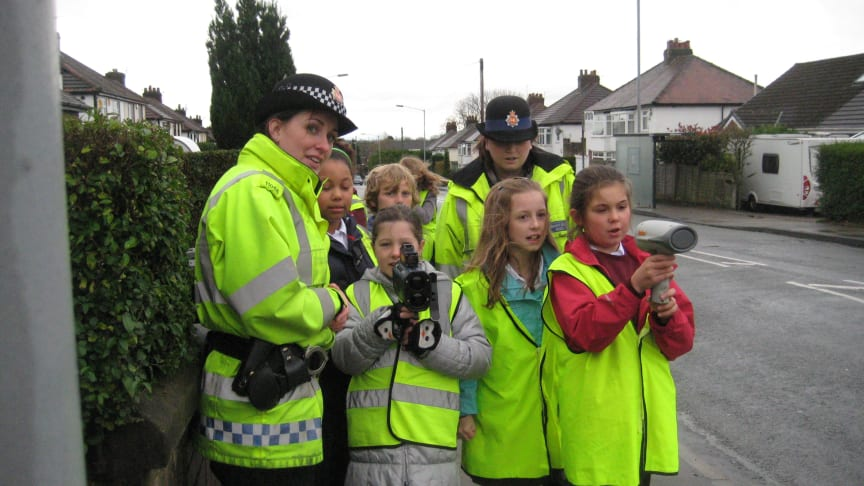 Youngsters say – speed kills, so slow down!