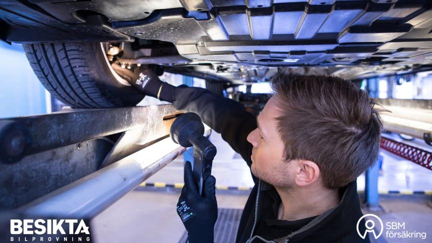 Besikta Bilprovning och SBM Försäkring ingår samarbete för ett säkrare bilägande