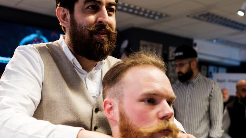 Västkustens bästa barberare - Amin Iranmanesh från Randevu Barbershop i Göteborg