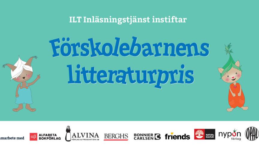 Förskolebarnens litteraturpris lyfter vikten av läsning