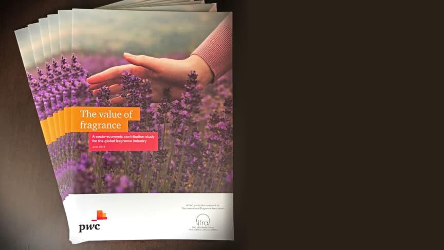 The Value of Fragrance report developed by PwC