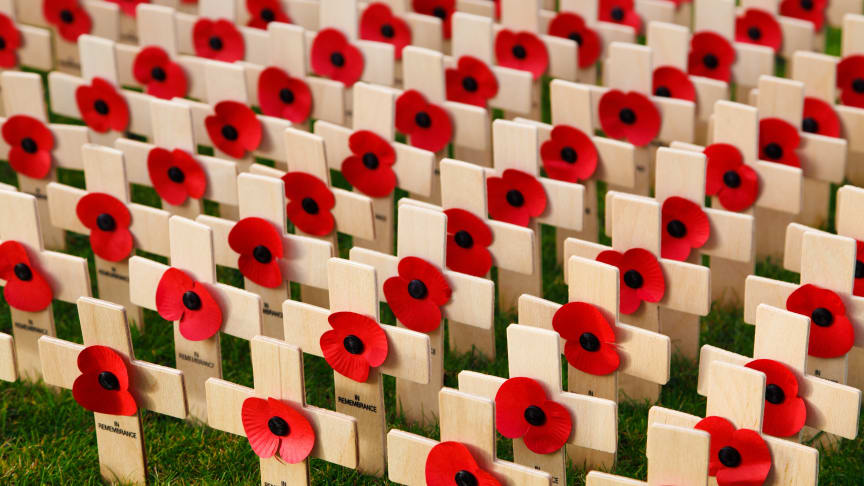 London Northwestern Railway supporting veterans this Remembrance Day