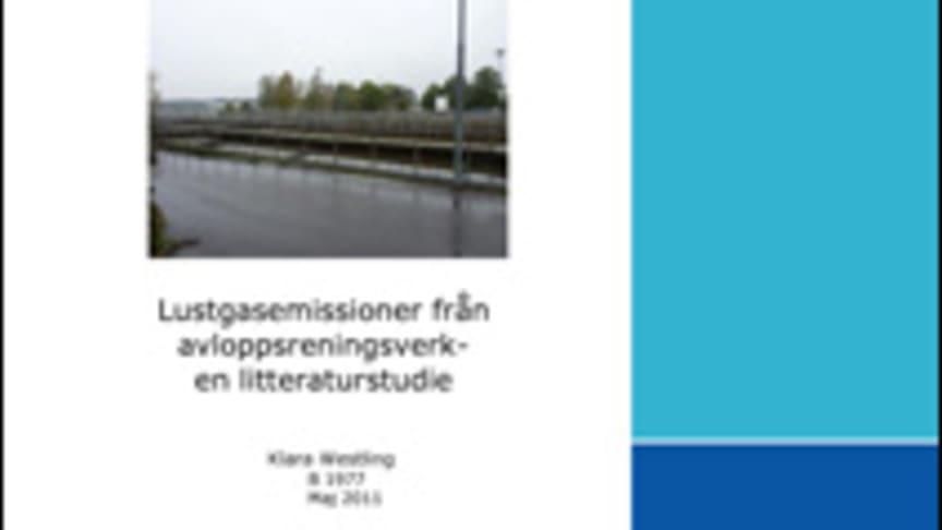 C SVU-rapport C 2011-IVLB1977: Lustgasemissioner från avloppsreningsverk – en litteraturstudie (avlopp)