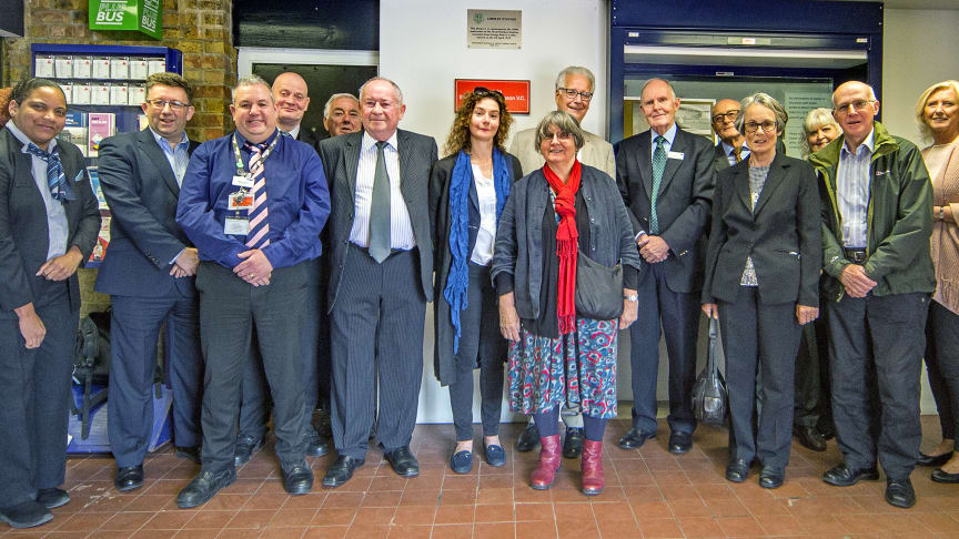 Great Northern train firm joins village to celebrate life of WWI hero