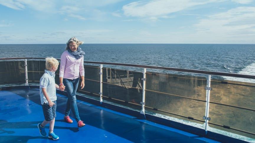 Stena Lines bærekraftsarbeid gjelder hele selskapet; om bord, i havner, på terminaler og kontorer.