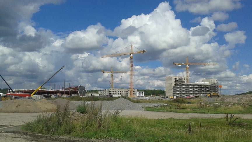 Barkarbystaden is the largest expansion area of the city of Stockholm.